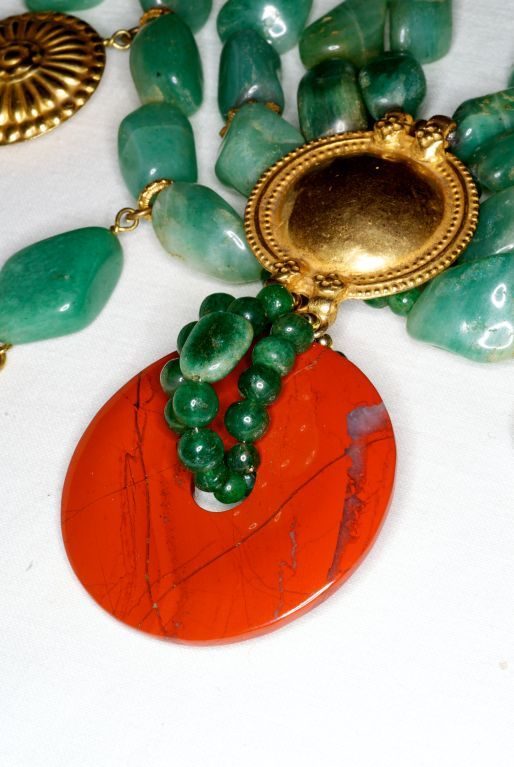 Loulou de la Falaise for YSL rive gauche Necklace | From a unique collection of vintage beaded necklaces at https://www.1stdibs.com/jewelry/necklaces/beaded-necklaces/