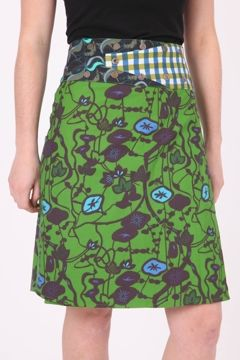 Boom Shankar Reversible Rosanna Long Skirt