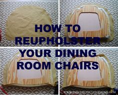 The 25 Best Recover Dining Chairs Ideas On Pinterest  Recover Stunning Fabric To Recover Dining Room Chairs Inspiration