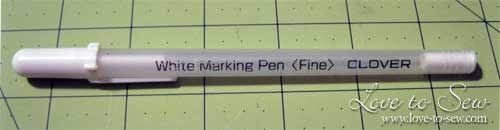 Мой любимый ткань маркировки инструменты для шитья и квилтинга