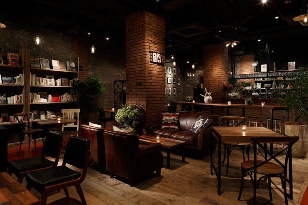 BLUE BOOKS cafe JIYUGAOKA