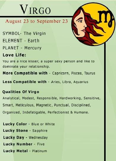 Virgo -- I am not a Virgo, but my boyfriend is...We will test what truth their is to a Virgo and Libra being less compatible!