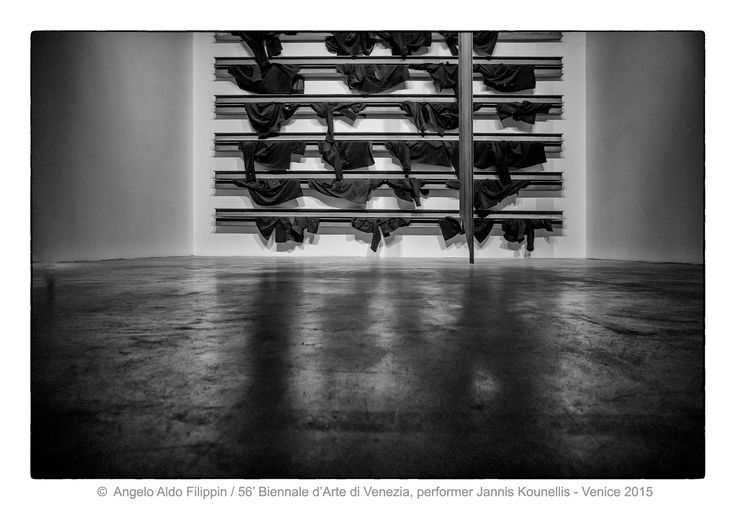 https://flic.kr/p/MnnFzr   56' Biennale d'Arte di Venezia, performer  Janis Kounellis - Venezia 2015