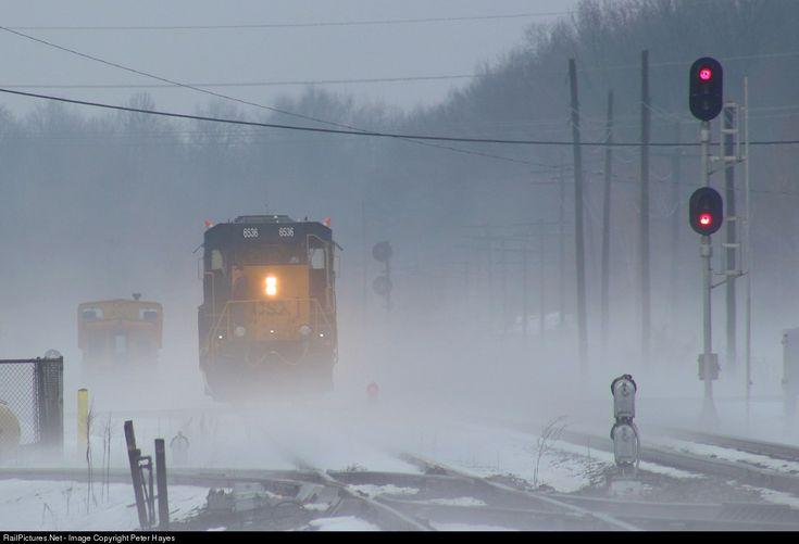RailPictures.Net Photo: CSXT 6536 CSX Transportation (CSXT) EMD GP40-3 at Plymouth, Michigan by Peter Hayes