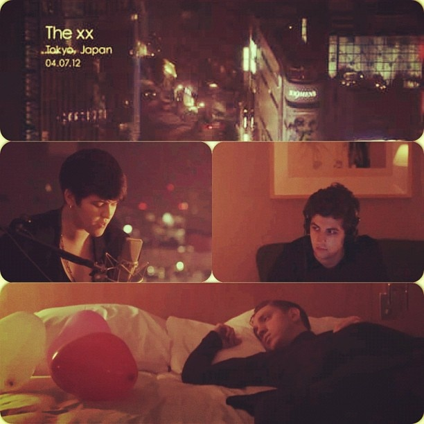 #Thexx play 'Angels' in Tokyo hotel! thexx.info/videos - @remotecontrolrecords- #webstagram