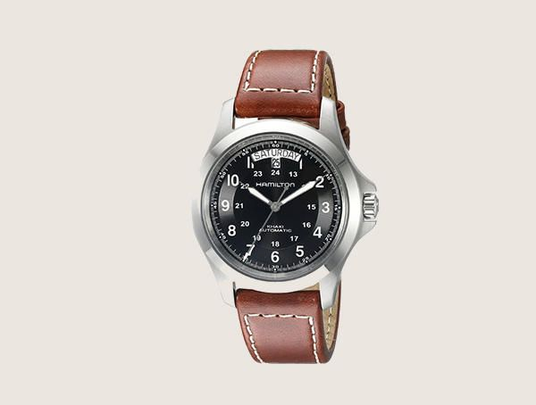 Hamilton H64455533 Khaki King Series Stainless Steel Automatic Mens Nice Watches
