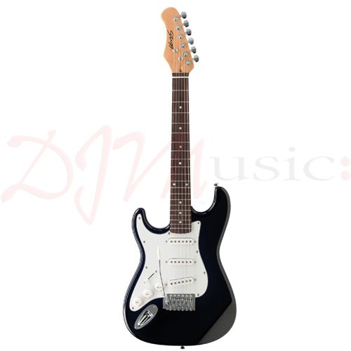 stagg 3 4 left handed electric guitar the stagg s300 3 4 lh is a left handed three quarter. Black Bedroom Furniture Sets. Home Design Ideas