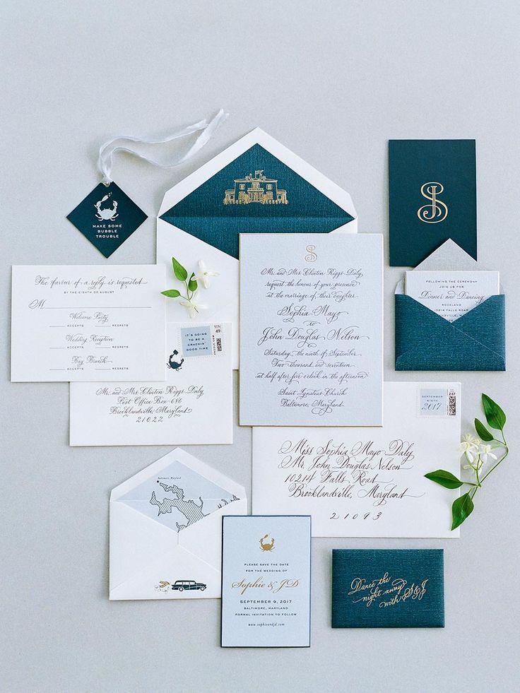 Decadent Maryland Wedding Youu0027ll Want to Bookmark