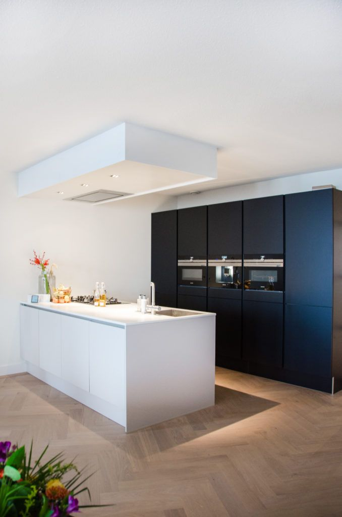 visgraatvloer keuken