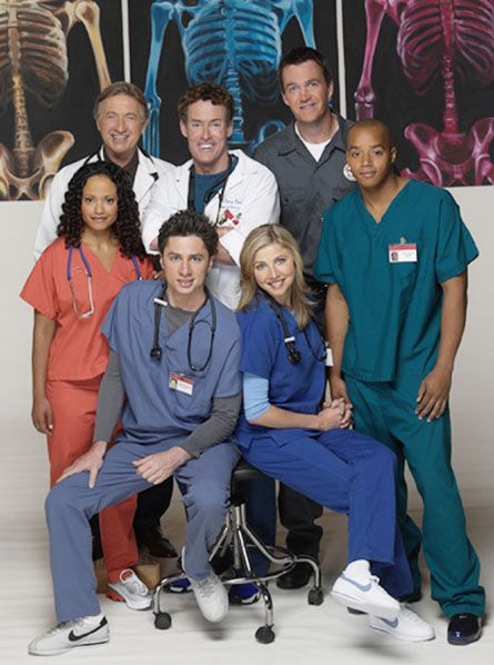 Scrubs. Man I miss this show. It can make you laugh hysterically and cry like a baby within 22 minutes.