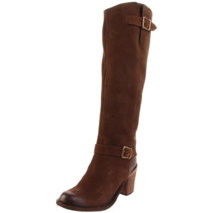 These boots rock! Finally a good looking pair of riding boots that aren't too boring. If you're hesitant about buying these, just buy them! They look great with a pair of skinny jeans.
