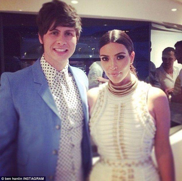Magician Ben Hanlin swallows needles in trick for Kim Kardashian #dailymail