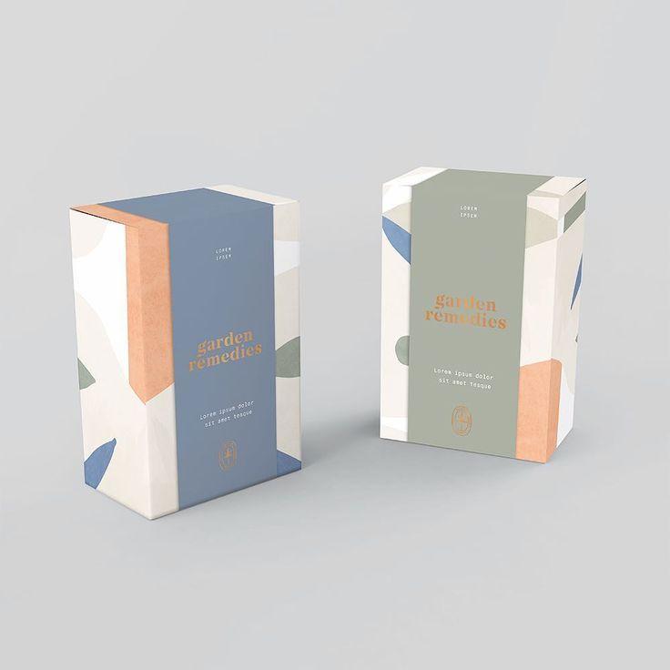 Kati Forner Design Packaging For Garden Remedies Cosmetic Packaging Design Packaging Design Inspiration Box Packaging Design