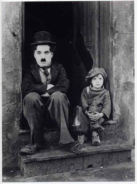 Chaplin en cine mudo