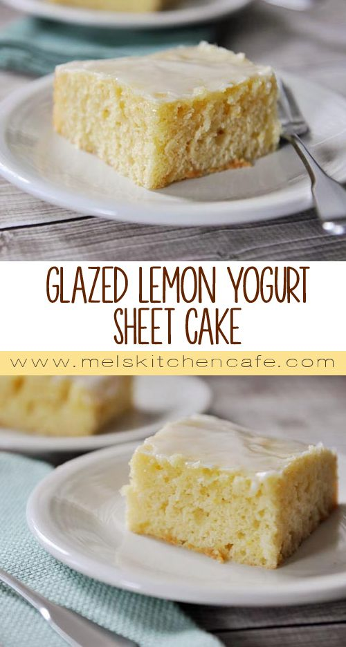 A Sweetly Fragrant Lemon-Glazed Cake
