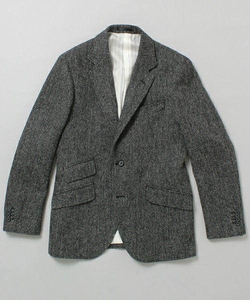 International Gallery BEAMSのInternational Gallery BEAMS / 2B ハリスツイード ジャケットです。こちらの商品はBEAMS Online Shopにて通販購入可能です。