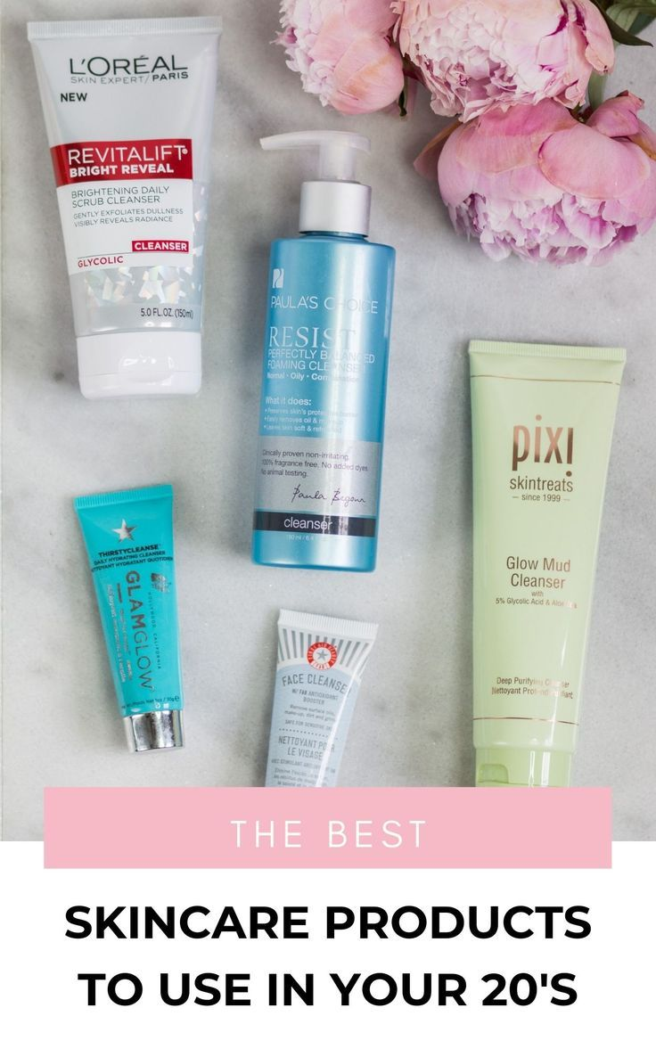 Looking For The Best Skincare Products In Your 20s We Re Sharing All Of The Best Skin Care On The Market Best Skincare Products Skin Care Night Beauty Routine