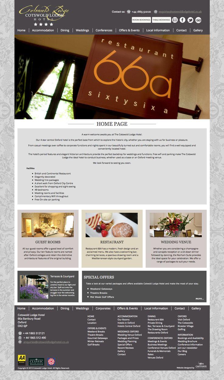 Cotswold Lodge Hotel Website