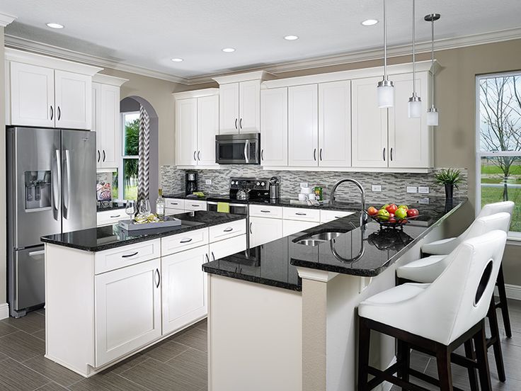 Amazing What Do You Think Of This Modern Kitchen At Nova Grove? #OrlandoHomes  #MeritageHomes
