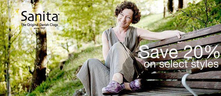 sanita shoes store forward save 20 % in store on select sanita shoes ...