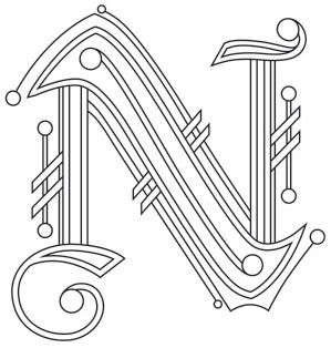 Letter Perfect - Letter N_image