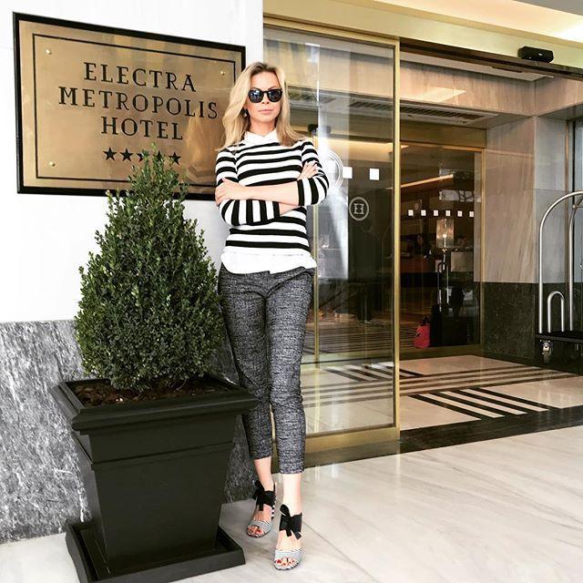 #polishgirl #blondegirl #selfie #ootd #dailyootd #olfaktoriaootd #hotel #electrametropolisathens