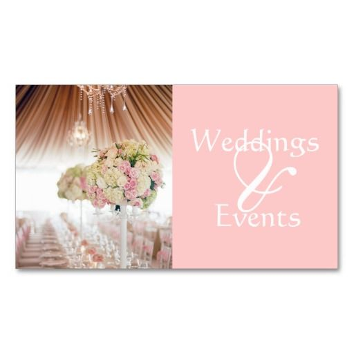 17 best images about business cards wedding planner on for Wedding planning business cards