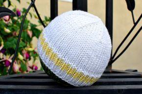 Como tricotar um chapéu básico do bebê: Padrão grátis (e fácil!) Com vídeos passo a passo