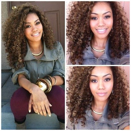 Shop our VIP line on Mongolian hair extensions. This ultra soft Mongolian Curly…