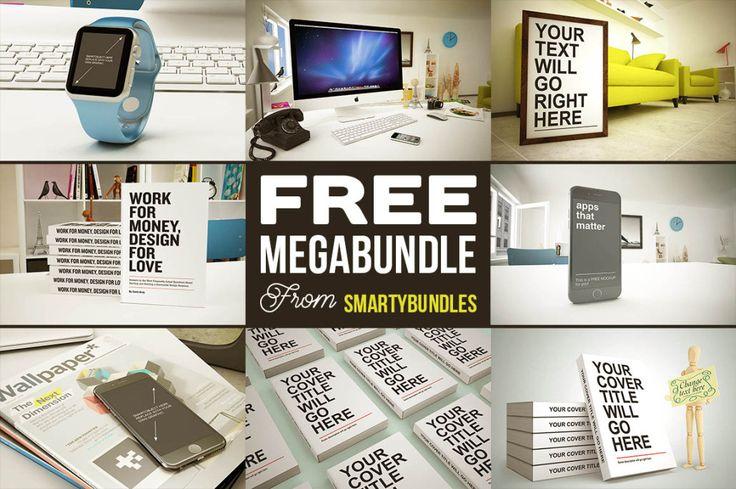 Free Megabundle From Smartybundles Cool & free graphics & mock-ups megabundle from Smartybundles.…