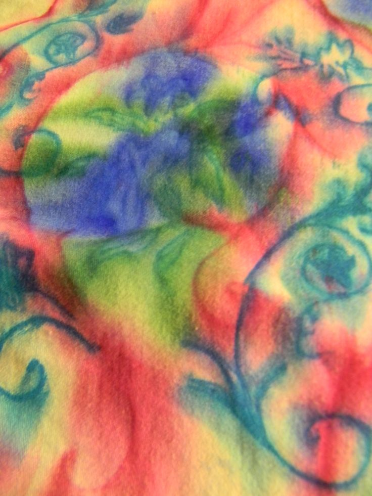 Check out my Hub!  Tie-Dyeing with Sharpies and Rubbing Alcohol