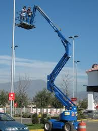 """<a href=""""http://www.sendhamarai.in/boom-lift-scaffolding.html"""">Articulated boom lift</a>s are essentially mechanical arms that help you reach those hard-to-reach areas."""
