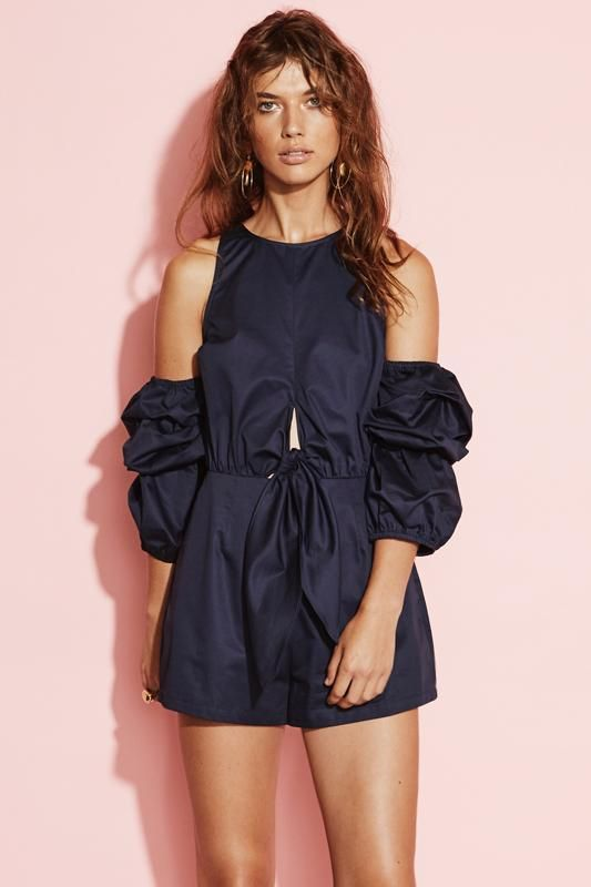 August Street - Solitaire Playsuit