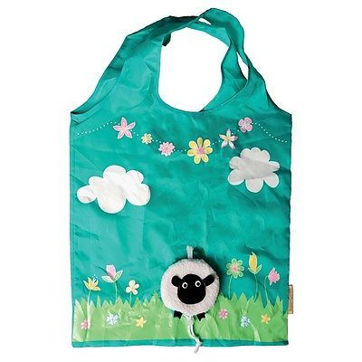 Reusable Compact Shopping Bag / Sass & Belle Foldable Shopper With Pouch  | eBay