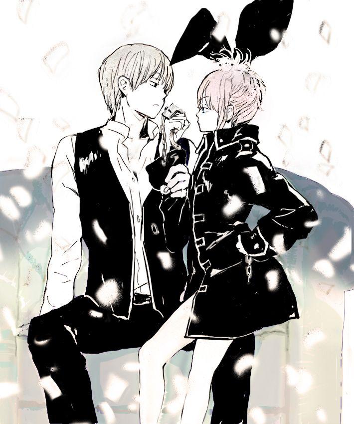 Tags: Anime, Gin Tama, Okita Sougo, Hair Buns, Kagura (Gin Tama), Pixiv Id 4277119, Shinsengumi Uniform (Gin Tama)