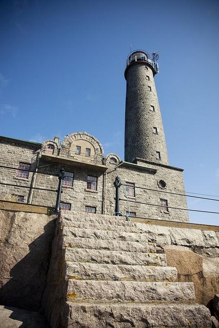 Bengtskär lighthouse in Finland by Visit Finland, via Flickr
