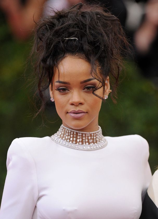 Le chignon de Rihanna