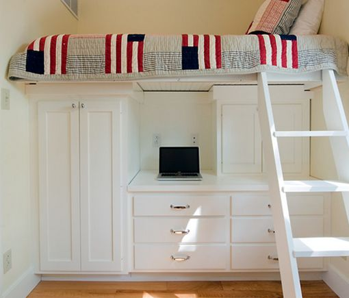 Click Pic For 40 Small Apartment Ideas Raised Bed Over Wardrobe Studio Decorating Kids Bedroom In 2018 Pinterest