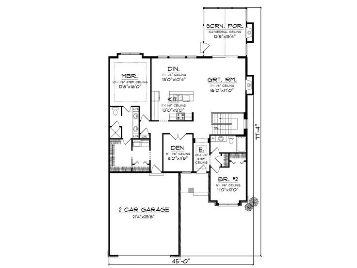 The HousePlan Shop Home Pinterest House Small House