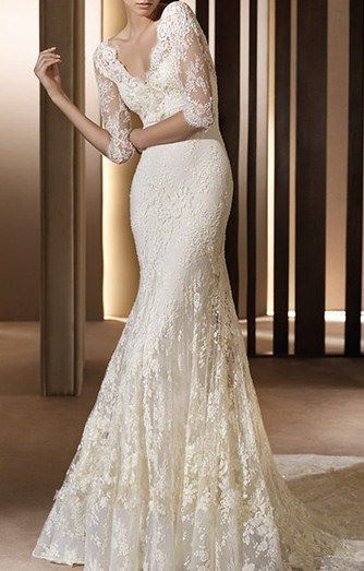 Lace... Not counting any chickens, but this is the most perfect thing I've ever seen!