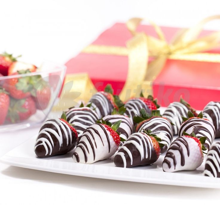 Everybody loves strawberries order this lovely strawberry boxes on julyhttp://www.frutiko.cz/en/strawberries-dark-chocolate