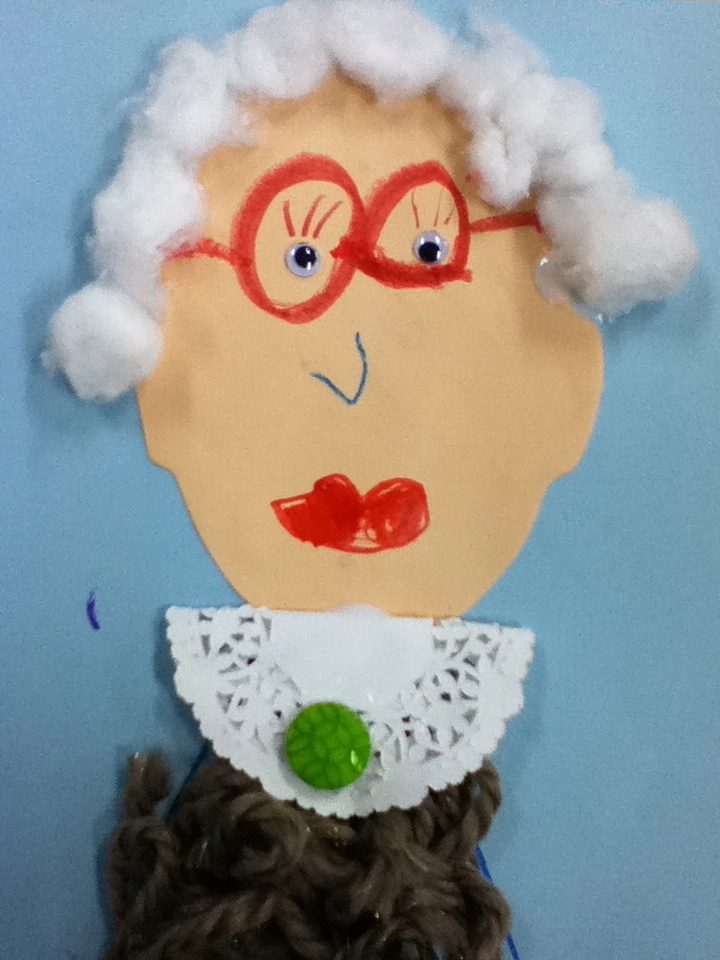 100th day of school! When I'm 100 years old..cute!