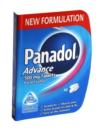 Panadol Advance Tablets 16 Panadol Advance Tablets 16: Express Chemist offer fast delivery and friendly, reliable service. Buy Panadol Advance Tablets 16 online from Express Chemist today! (Barcode EAN=5000347029462) http://www.MightGet.com/january-2017-11/panadol-advance-tablets-16.asp
