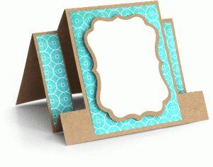 View Design: center panel step card