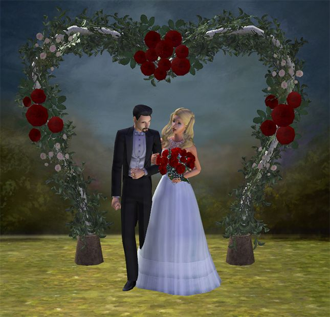 Wedding Altar Sims 3: 17 Best Images About Sims 2 Weddings: Arches, Flower