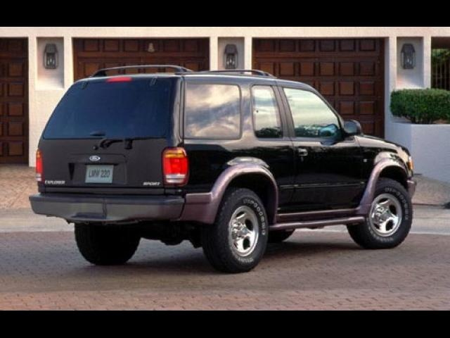 My Old Car Late 90 S Model Ford Explorer Sport The