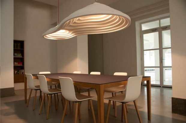 Ricefield_double_hanglamp-boven tafel-acoustics -gimmii