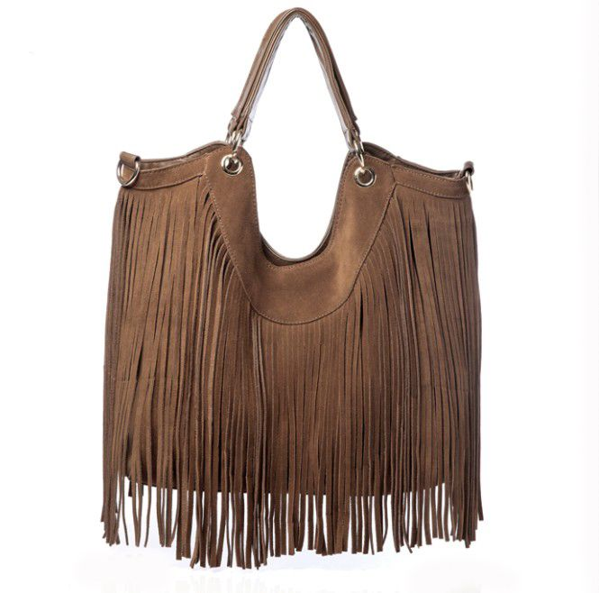 MarLey Rose - andyANDmolly Leather Fringe Bag