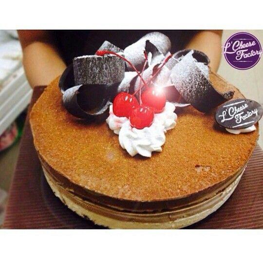 Triple choco cheesecake!! ^_^