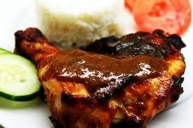 Indonesian Food - Ayam Bakar Bumbu Padang